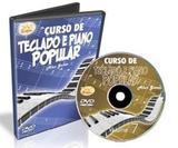 Dvd Curso De Teclado E Piano Popular Vol.7 - Edon