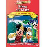 DVD Disney - Mickey e o Pé de Feijão - Rimo