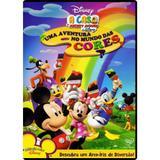 DVD Disney - Uma Aventura No Mundo Das Cores - Rimo
