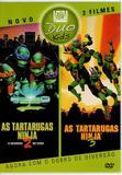 DVD Duo Kids 2 Filmes As Tartarugas Ninja 2 E 3 - Fox