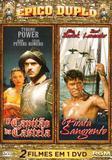 DVD Épico Duplo - O Capitão de Castela - O Pirata Sangrento - Ágata
