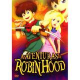 Dvd Filme Desenho - As Aventuras De Robin Hood Original