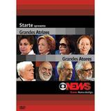 DVD Globo News - Grandes Atrizes Grandes Atores