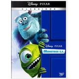 DVD - Monstros S.A - Disney