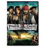 DVD - Piratas Do Caribe 4 - Navegando em Águas Misteriosas - Disney