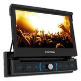 Dvd Player Automotivo Positron SP6330BT Retrátil Tela 7 DVD/Bluetooth/USB/SD/AUX/FM/Espelhamento