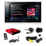 Dvd Player Pioneer Avh-208bt Bluetooth 278 + Camera + Tv Dig