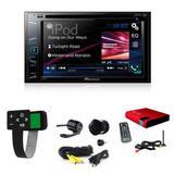 Dvd Player Pioneer Avh-208bt + Camera + Receptor De Tv - Multi marcas