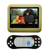 Dvd Portátil Encosto Cabeça Tela 7 Polegadas Com DVD Bege - First option