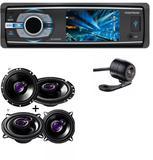 Dvd Positron Sp-4330bt Bluetooth e Alto Falante Pioneer Kit 5' Ts1360 + Ts1760 200w E Camera de Ré - Positron / pioneer