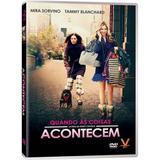 DVD Quando As Coisas Acontecem - Amz