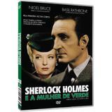 DVD Sherlock Holmes E a Mulher de Verde Nigel Bruce - Nbo