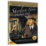 DVD Sherlock Holmes - Melodia Fatal - Nbo