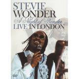 DVD Stevie Wonder - Live In London - Sony
