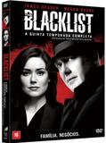DVD The Blacklist - Quinta Temporada (5 DVDs) - Sony pictures
