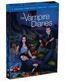DVD - The Vampire Diaries - 3ª Temporada Completa - 5 Discos - Warner bros.