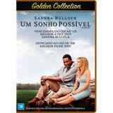 DVD - Um Sonho Possível - Golden Collection - Warner bros.