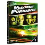DVD - Velozes e Furiosos (Capa Alternativa) - Universal studios