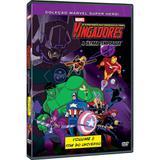 DVD Vingadores A Última Temporada Fim do Universo Ed. 8 - Rimo