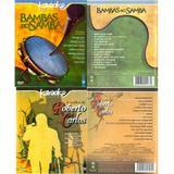 DVDs  - Karoke Roberto Carlos, Abba, Leandro e Leonardo, mais - Time music