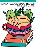 Easy Coloring Book for Adults - Dylanna publishing, inc.