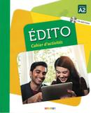 EDITO A2 CAHIER DEXERCICES + CD MP3 - 3ª ED - Didier/ hatier