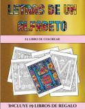 El libro de colorear (Letras de un alfabeto inventado) - Coloring pages ltd