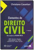 Elementos de Direito Civil - Vol. Único - 07Ed/19 - Saraiva