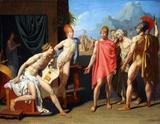 Embaixadores de Agamenon - Ingres  Tela Grande Para Quadro - Santhatela