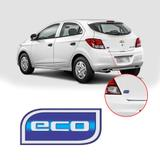 Emblema ECO Traseiro da Tampa do Porta Mala Onix Cobalt Prisma 2012 2013 2014 2015 2016 Original GM - Original - gm