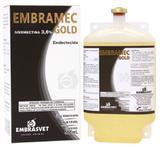 Embramec Gold Ivermectina 3,6  Para Bovinos Embalagem Frasco com 500 ml - Embrasvet