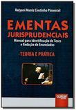 Ementas jurisprudenciais - manual para identificac - Jurua
