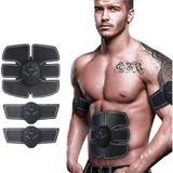 Ems Cinto Tonificador Abdominal Estimulação Elétrica Musculação kit com 3 peito e braços - Ems tonificador
