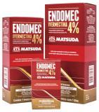 Endomec Ivermectina 4 Matsuda - 1 Litro Validade Set/2019