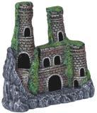 Enfeite Aquário Castelo Decorado Grande Mr Pet