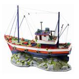 Enfeite Para Aquário Barco de Pesca Grande - Aquária