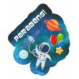Enfeite Topo de Bolo Festa Astronauta 01 unidade Duster - Festabox