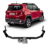 Engate Jeep Renegade 2015 a 2020 Atos Reboque Rabicho Protetor Tração 1000 KG