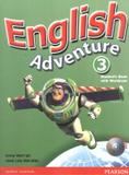 English Adventure Level 3 Student Book with CD-Rom