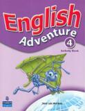 English adventure plus 4 activity - Pearson (importado)