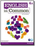 English in common 4a students book  with activeboo - Pearson
