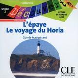 Epave/ l voyage du horla niveau 2 (cd audio) - Cle international - paris