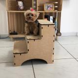 Escada Pet Para Cachorros E Gatos Em Mdf - Eptcel arte em mdf