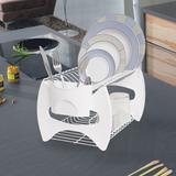 Escorredor de Plástico Color Branco - Metaltru