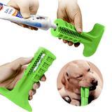 Escova Dentes Canina Mordedor Cachorro Limpeza Cao Pet Remove Tartaro - Braslu