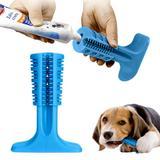 Escova Dentes Mordedor Azul Canina Remove Tartaro Cachorro Cao Pet Limpeza Bucal - Ideal