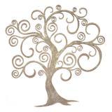 Escultura Decorativa Arvore Bege 92416 Art Shop