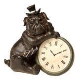 Escultura Decorativa de Resina Cachorro Times - Maria pia casa