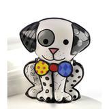 Escultura Romero Britto Cachorro Dalmation - Resina - 15cm x 13cm x 9cm - Trevisan Concept