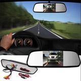 Espelho Retrovisor Lcd 4.3 Pol Para Camera Carro Veiculo (BSL-CAR-6) - Braslu